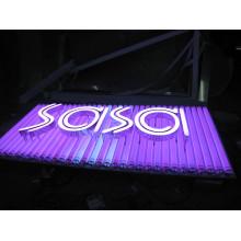 RGB LED Lampen Birne Buchstaben Leuchtreklame