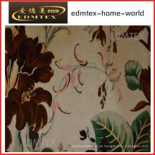 Cortina de tecido com impresso Styled-Cheap Preço EDM0554
