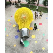 Große moderne Kunst Farbe Licht im Freien Dekoration Edelstahl Skulptur