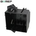 YGC-017 Caja de conexiones de cable de alimentación eléctrica de plástico gfci impermeable