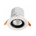 Plafonnier LED réglable antireflet dimmable 25W / 35W / 45W