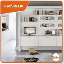 Fine appearance custom living room cabinets
