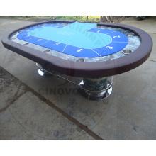 Nueva mesa de póquer de madera maciza (New Model-PT98)