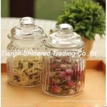 Verrerie de cuisine Stockage Bouteille Verre Jar