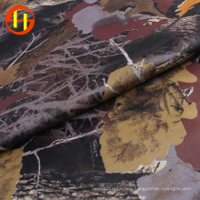 Lining waterproof printed coated polyester taffeta fabric