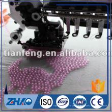615 máquina de bordar de contas duplas ZHAO SHAN venda quente na Índia