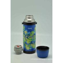 Hohe Qualität 18/8 Edelstahl Doppelwand Isolierflasche Svf-1000e
