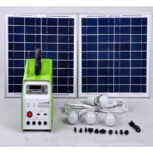 Sistema de energía solar con radio