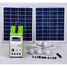 Solar Power System with Radio
