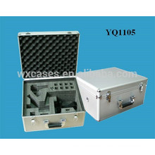 strong instrument case aluminum with custom foam insert manufacturer