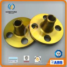 ANSI B16.5 Crabon acier forgé soudure bride collet (KT0392)