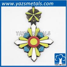 пользовательские моды дизайн логотипа дешевый металл кулон