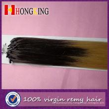 Ombre Micro Loop Ring Hair Extension Bundles