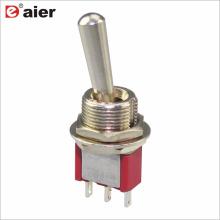 Interruptor de palanca miniatura MTS-102/103-L1 SPDT 3P