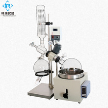 Mini evaporador rotatorio con destilación de cristalería al vacío