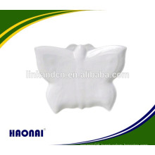 Beautiful butterfly shape ceramic plates for restaurant