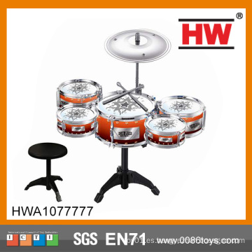 Los niños populares juegan el tambor profesional determinado Juguete el tambor de acero plástico