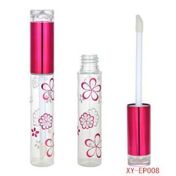 Passionate Hot pink Cosmetic Lipgloss Bottle