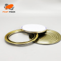 Paint can accessories with golden or gray coating