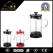 Kleine Teekanne Glas Teekanne mit Edelstahl Infurser