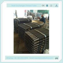 Обжимная SUS304-ребристая трубка для дерева Приправа-завод Дерево-печь Теплообменник