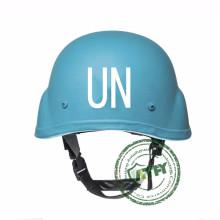 Буллистический синий защитный шлем ООН Пуленепробиваемый шлем