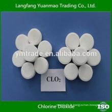 Tablette de dioxyde de chlore pour désinfectant et fongicides de volaille