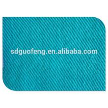 Haute qualité 100% coton tissu 16 * 12 108 * 56 57/58 '' sergé teint