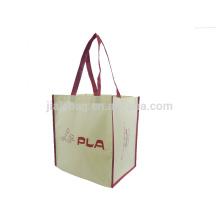 Prix usine ensemble vente pas cher sac à provisions pliable