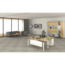 Table de gestionnaire de bureau de bureau en métal de haute qualité (HF-OFY003)