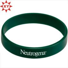 Taille de bracelet en silicone vert foncé pour les adultes