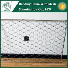 Metallzaun Fischernetze Metallgewebe