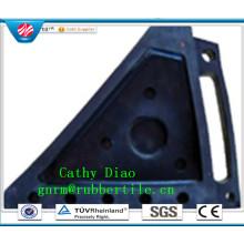 Qingdao approvisionnement d'usine en caoutchouc de voiture cale en caoutchouc cale de roue de voiture en caoutchouc butée de roue