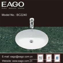 EAGO ceramic under counter wash basin-quality sink in bathroom BC2240