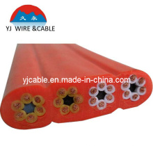 elevator cable elevator cable with power cable h07vvh6-f pure copper control cable a control cable 21*1.25mm