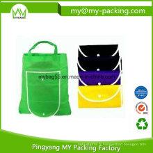 Recycler Promotion Shopping Pliable PP Non Tissé Sac