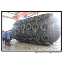 Diâmetro 3300mm x comprimento 6500mm pneumático Fender