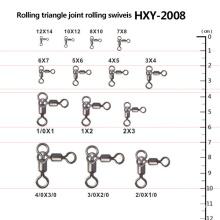 Pivots de joint triangulaire de pêche