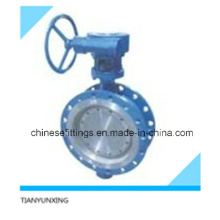 Metal Seat/Seated Flanged Double Eccentric/Concentric Butterfly Valve