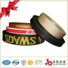 Custom color and style jacquard sewing elastic tape ribbon for underwear