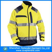 Vestuário de protecção Fogo Retardant Stripes Reflective Firefighting Suit
