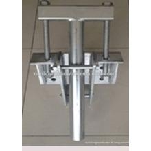 Instalación Anclajes helicoidales y soporte