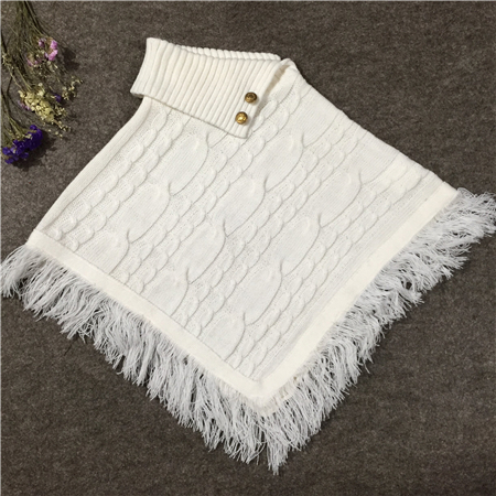 adults sweater poncho-3