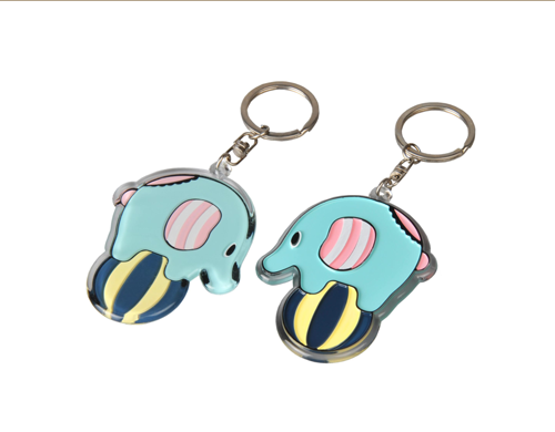 New Fashion And Hot Selling Custom Acrylic Keychain