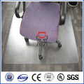 Tapis de chaise de bureau en polycarbonate zhongding / tapis de chaise en polycarbonate givré