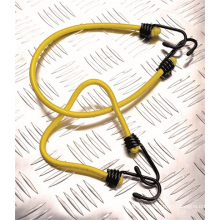 Crochet de sangle en latex / Crochets en acier noir Sangle de bagage