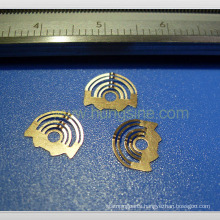 Customized Bronze Stamping with Gold Plating