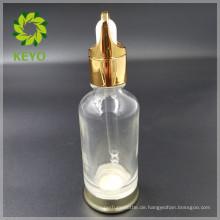 30 ml 50 ml meistverkaufte klare farbige leere kosmetische glas tropfflasche