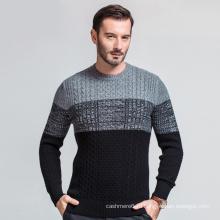 Китай Поставщик Пользовательских Новейших Образцов Шерстяной Пуловер Кашемировый Свитер Для Мужчин