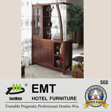 Wood & MDF Small Wine Cabinet &Partition Cabinet (JZ-C5002)